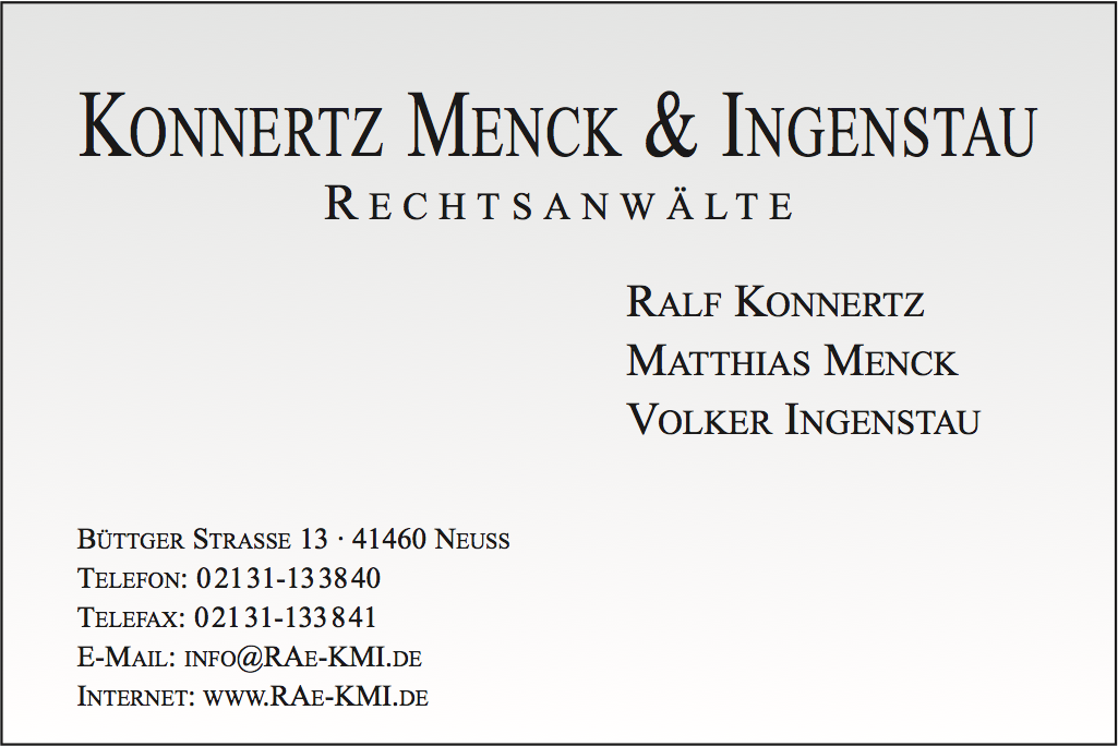 Konnertz Menck & Ingenstau